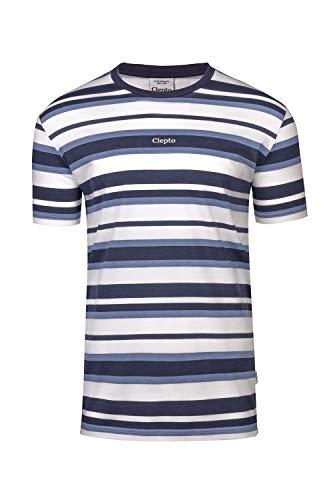 Multi Stripe 3 T-Shirt - Dark Navy Größe: L Farbe: Dark Navy -