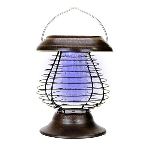 Moskito Insektenvernichter Mückenvernichter Licht Mückenfalle Killer Solar Lampe Lokauf ZiXuOPk