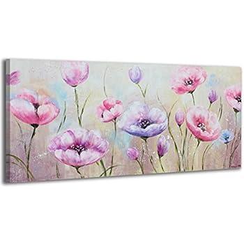 100% HANDGEMALT + Zertifikat | 115x50 cm | YS-Art Acryl Gemälde ...