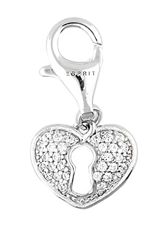 Esprit Damen-Charm 925 Sterling Silber rhodiniert ESCH91502A000