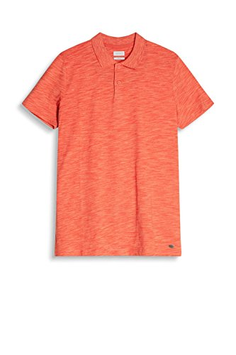 ESPRIT Herren Poloshirt Rot (Coral 645)