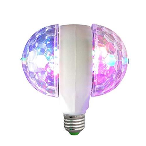 Pagacat Double Head Rotation Multicolor Stage Light Blitzleuchte für Zuhause Speziallampen