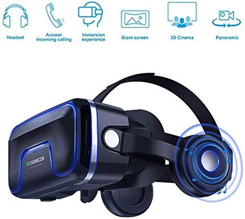 """HengYue VR-Headset Virtual-Reality-Headset VR-Brille VR-Brille - Für 3D-VR-Filme Videospiele Kompatibel Für iPhones Alle Android 4 7\""""- 6 2\"""" Bildschirmtelefone Smartphone"""