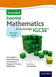 Mathematics for (Cambridge) IGCSE Extended Revision Guide: Written by June Haighton, 2012 Edition, (Student) Publisher: Nelson Thornes [Paperback]