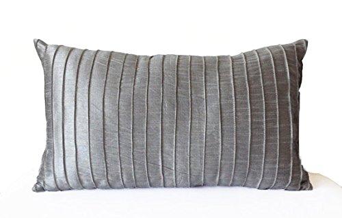 amore-beaute-hecho-a-mano-gris-seda-plisada-cubierta-cojin-lumbar-con-textura-gris-seda-decorativo-f