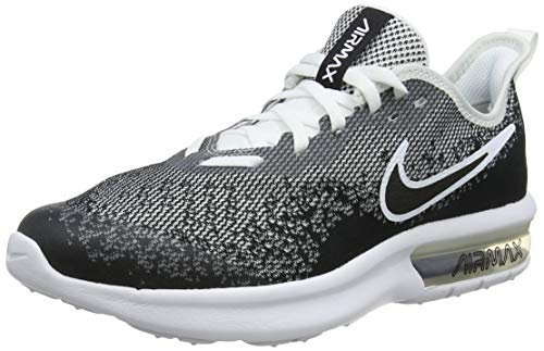 new concept 16164 0eed5 Nike Air Max Sequent 4 (GS), Chaussures de Fitness Homme, Noir Black