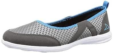 Power Women's Codex Grey Running Shoes-4 UK (37 EU) (5592063)