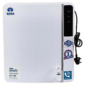 Tata Swach Viva Silver UV+UF Wall Mounted 6-LitreWater Purifier