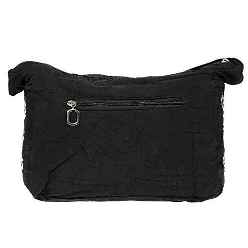 Christian Wippermann®, Borsa a spalla donna grigio Grau 30 x 20 x 12 cm marrone