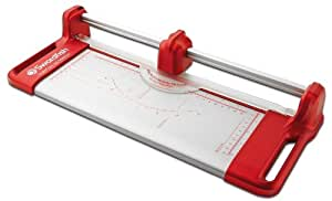Swordfish SuperSlim A4 10 Sheet Rotary Paper Trimmer Red ref: 40222