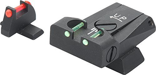 Sight Set, Fully Adjustable Fiber Optic H&K USP 40 S&W, USP 45 TTF49HK by LPA