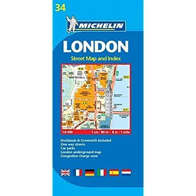 Plan Michelin Londres.