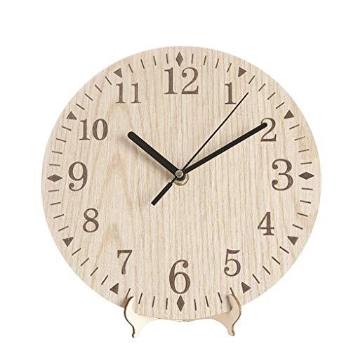 Babysbreath17 Operado Madera Retro Reloj Pared Escritorio
