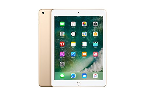 Price comparison product image NEWEST Apple iPad with WiFi - 32GB - Gold (NEW IPAD - LATEST MODEL - 2017) (REPLACES iPad Air 2)