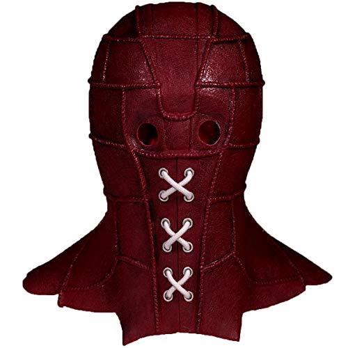 Nexthops Maske BrightBurn Cosplay Full Head in Latex Rot 2019 New Movie Cosplay Zubehör Kostüm Halloween Karneval für Unisex Erwachsene (26 x 20 x 4 cm) (2019 Halloween-maske Rote)