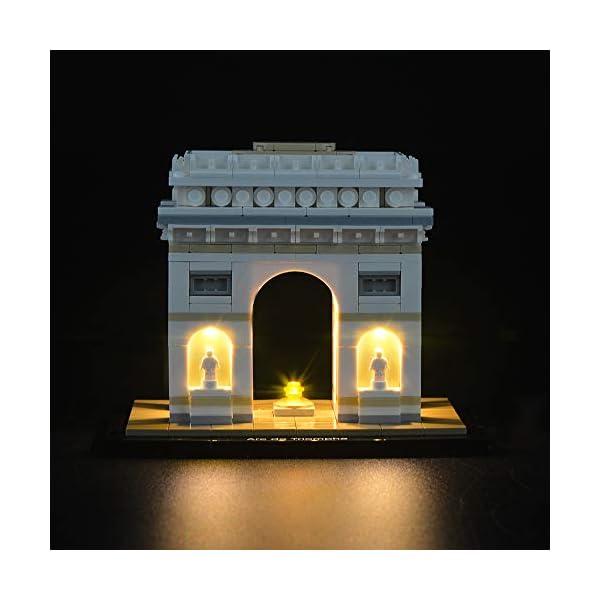 LIGHTAILING Set di Luci per (Architecture Arco di Trionfo) Modello da Costruire - Kit Luce LED Compatibile con Lego… 3 spesavip