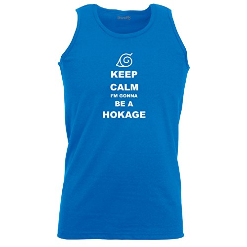 Brand88 - Keep Calm I'm gonna be Hokage, Unisex Athletic Weste Koenigsblau