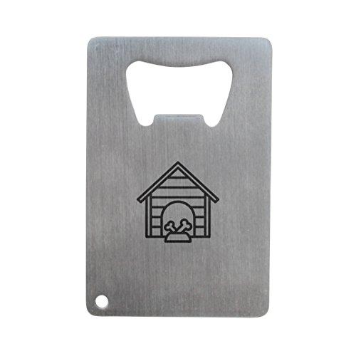 Cucha abrebotellas, acero inoxidable tamaño de tarjeta de Crédito, abrebotellas para su cartera, tamaño de tarjeta de Crédito abrebotellas