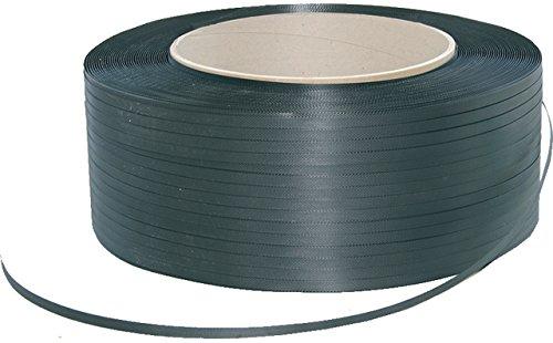 Pressel Umreifungsband, PP, 0,5 mm, 16 mm x 2.000 m, schwarz