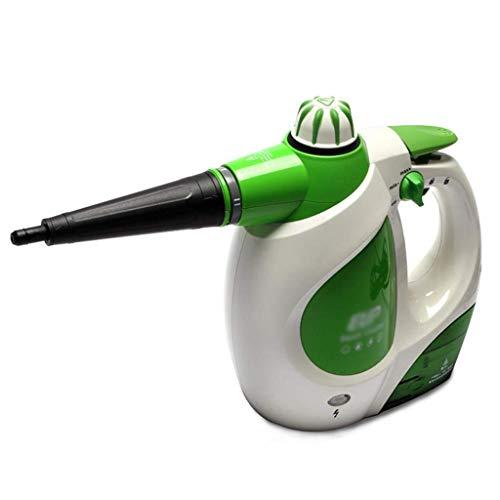L&WB Handgehaltenes Hochdruck-Handdampfgerät Für Dampfreiniger - Mit 9 Zubehörteilen Und Kindersicherung - 1000 W