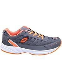 CF_Better Deals Mens Synthetic Mesh Grey Orange Coloured Sports Shoe| Running Shoes| Pro Running Shoes| Sprint... - B076CNNGV3