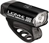 Lezyne 1-led-24F-V104 Eclairage vélo Mixte Adulte, Noir/Hi Gloss