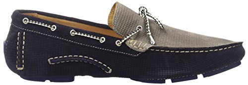 GOLD BROTHERS Racer Patch, Mocassins (loafers) homme Blu 501