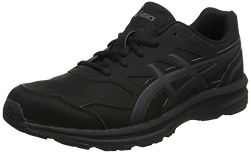 ASICS Damen Gel-Mission 3 Walkingschuhe, Schwarz (Blackcarbonphantom 9097), 43.5 EU