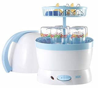 NUK 10251010 Vaporisator 2 in 1, Desinfizieren und Dampfgaren, für bis zu 5 NUK Babyflaschen und Sauger (B000OKNV66) | Amazon price tracker / tracking, Amazon price history charts, Amazon price watches, Amazon price drop alerts