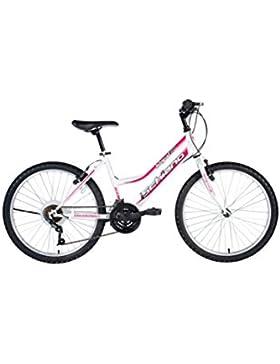 F.lli Schiano MTB Integral Power - Bicicleta de montaña para mujer, color blanco / violeta, 26