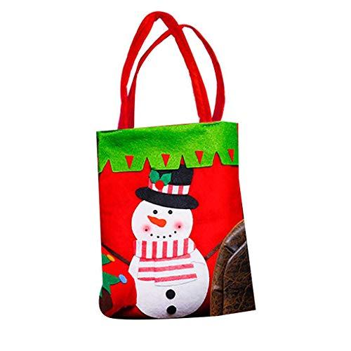 Cdrox Bolsas Santa Claus Caramelo Dulce Bolsa Saco