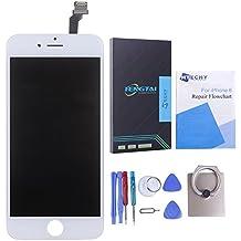 Htechy iPhone 6 Pantalla LCD, Pantalla LCD y Digitalizador de Repuesto Para iPhone 6 (4.7'') Con Protector de Pantalla