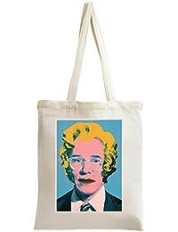 Andy Warhol Pop Art Portrait Bolso de mano