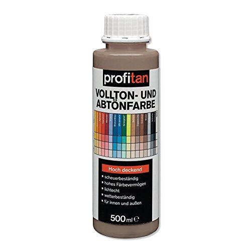 ROLLER profitan Vollton- und Abtönfarbe - Cappuccino - 500 ml