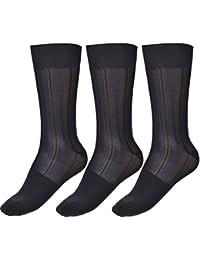 Cityelf Chaussettes Hautes Été chaussettes habillées Hautes de Soie  Ultra-mince pour ... 1ff046a5e1c