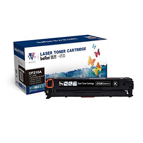 befon Kompatibler Toner Cartridge ersatz für HP 131a 131x HP CF210A HP HP CF210X zur Verwendung mit HP LaserJet Pro 200Color M251N Color M276N M251nw M276nw Drucker, Schwarz