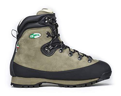 Shoes zapatos Schuhe chaussures TREEMME Scarpone da montagna Trekking in Nabuk e suola VIBRAM ultraleggera fodera AQUASTOP Made in Italy cod. 9296