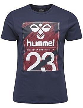 Hummel T-Shirt Herren - TABLE TEES QUICK SS TEE - Trainingsshirt Baumwolle kurze Ärmel - Fitnessshirt Freizeit...