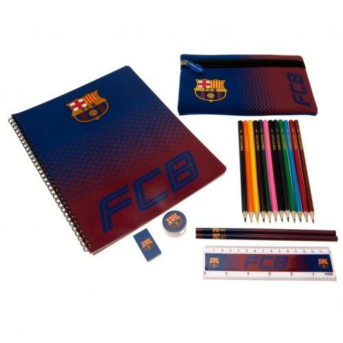 FC Barcelona último Set de escritorio caja de lápiz A4 Oficial Notebook