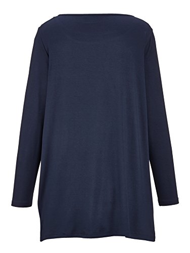 Damen Longshirt mit bedrucktem Vorderteil by MIAMODA Marine