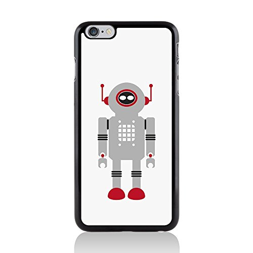 Apple iPhone 6 Plus/6S Plus Schutzhülle Hartschale Back Cover By Call Candy Robot Grey