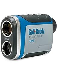 GolfBuddy LR5 Golf Laser Rangefinder, Light Gray/Blue by GolfBuddy