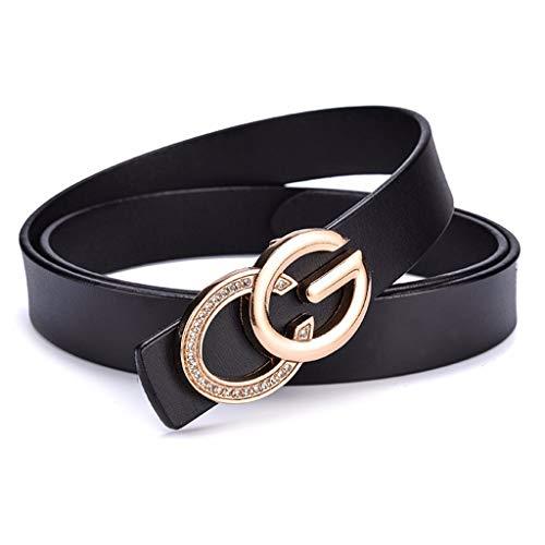 NUOVO Donna Cintura Cintura Cintura Fibbia Fibbia Grande 4 Colori Elegante Moda Cintura
