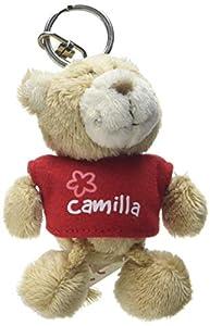NICI n15783-Llavero Oso con Camiseta Camilla, Rojo