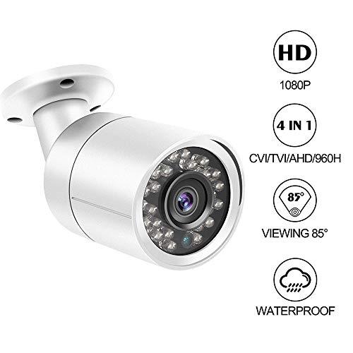 Dericam 1080P 1920TVL Bullet-Überwachungskamera für den Außenbereich,