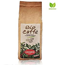 Organic Coffee Ground – 100% Bio Caffè Medium Roast of Premium Italian Blend, Certified Organic Fairtrade Coffee – Eco Friendly Packaging