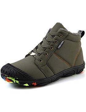 Botas de Nieve Niños Impermeable Zapatos Invierno Calientes Botines Al Aire Libre Boots