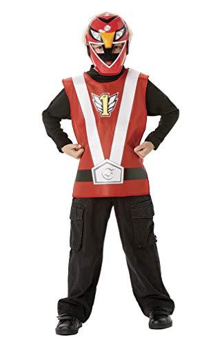 Rubie`s Power Ranger Set, rot (5334) (Power Rangers Kostüm Sets)