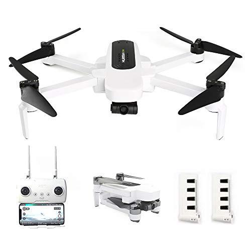 Goolsky Hubsan H117S Zino RC Drohne GPS 5G WiFi FPV 4K UHD Kamera 3-Achsen Gimbal Quadcopter mit Aufbewahrungstasche Autoladegerät,2 Batterie,Ersatzpropeller,Tragbare Tasche
