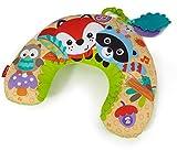 Fisher-Price CDN50 - Waldfreunde Spielkissen, mit abnehmbaren Spielzeugen und Musik, Babyerstausstattung, ab 0 Monaten